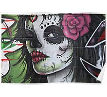 graffiti girl Poster