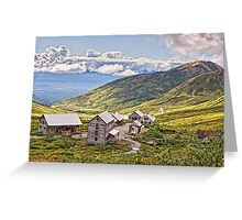 Independence Gold Mine Greeting Card