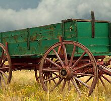 Old Rustic Wagon by clime