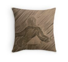 absolution in the rain  Throw Pillow