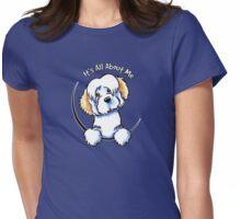 White Piebald Havanese :: Its All About Me Womens Fitted T-Shirt