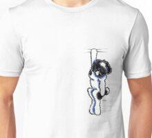 Clingy Black Parti Havanese Unisex T-Shirt