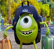 mike's first day at Monsters University by shoshgoodman