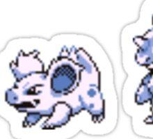 Nidoran evolution  Sticker