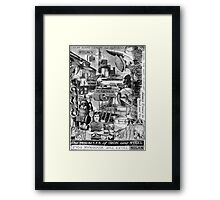 Miracles of Iron & Steel. Framed Print