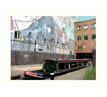 Into Birmingham thru the back door.......! Art Print