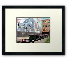 Into Birmingham thru the back door.......! Framed Print