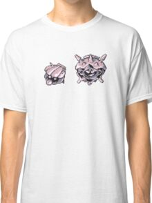 Shellder evolution  Classic T-Shirt