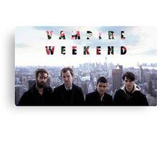 Vampire Weekend being very Vampire Weekend-y Canvas Print