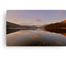 The Lake District: Grasmere Symmertry Canvas Print