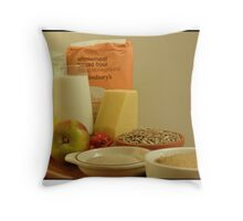 Going to have a baking day me thinks Throw Pillow