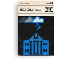 Back to the Future Modernist Book Cover Series  Canvas Print