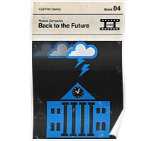 Back to the Future Modernist Book Cover Series  Poster