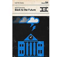 Back to the Future Modernist Book Cover Series  Photographic Print