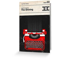 The Shining Modernist Book Cover Series  Greeting Card