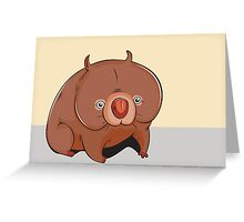 Cute animal Greeting Card