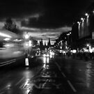 Princes Street. Edinburgh. B&W by LBMcNicoll