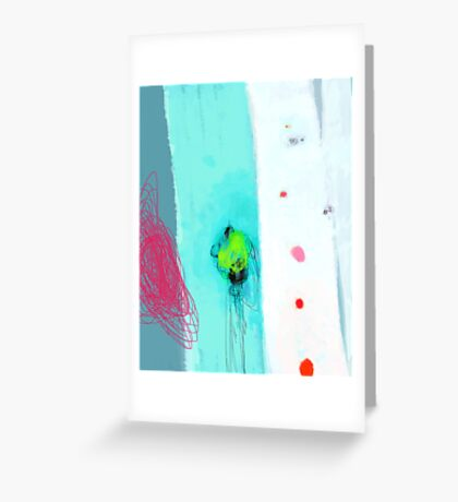 My special place for blue blush Greeting Card