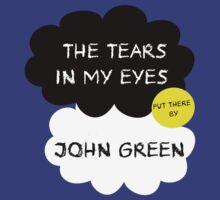 Tfios John Green Cover parody shirt. T-Shirt