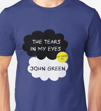 Tfios John Green Cover parody shirt. Unisex T-Shirt