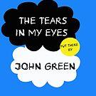 Tfios John Green Cover parody shirt. by Ellen Kapelle
