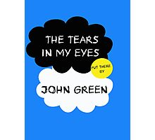 Tfios John Green Cover parody shirt. Photographic Print