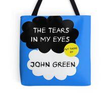 Tfios John Green Cover parody shirt. Tote Bag