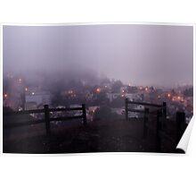 Fog. Poster