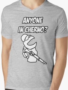 Anyone in Cherno? Mens V-Neck T-Shirt