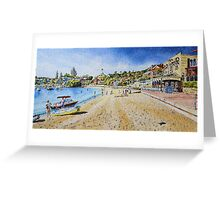 Watsons Bay on Sunday Greeting Card