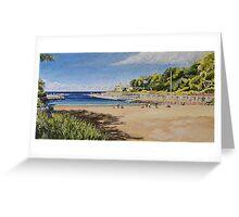Clovelly Beach Greeting Card