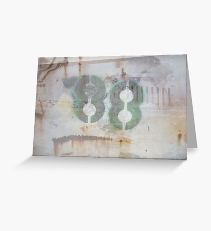 88 (available in ipad case) Greeting Card