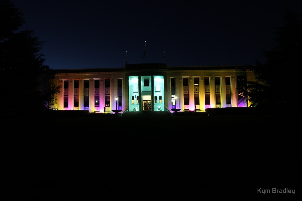National Film and Sound Archive,  Canberra Australia by Kym Bradley