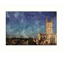 Gloucester cathedral Art Print