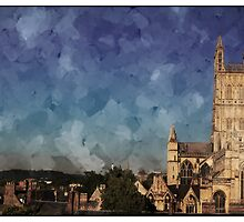 Gloucester cathedral by Jeff  Wilson