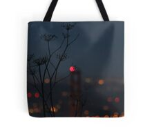 In the Shadow of the Lights Tote Bag