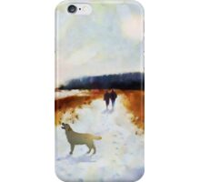 Broadland walk'... iPhone Case/Skin