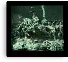 General William Haines Lytle at the Battle of Chickamauga Canvas Print
