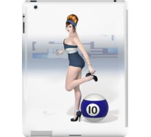 Poolgames 2012 - No. 10 iPad Case/Skin