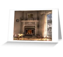 Home is where the hearth is... Greeting Card