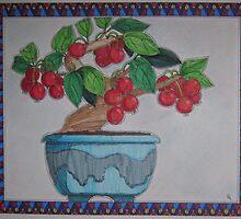 Bonsai Tree: Crabapple by Susan Genge
