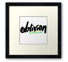 Of Promotion Framed Print