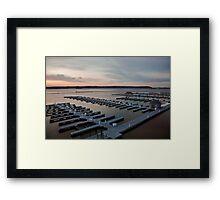 At the Docks Framed Print