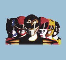 Mighty Morphin Power Rangers One Piece - Short Sleeve