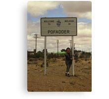 Poffader, South Africa Canvas Print