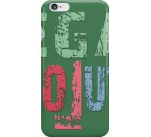 VEGAN REVOLUTION - vegan, vegetarian, animal rights, cruelty to animals iPhone Case/Skin