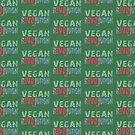 VEGAN REVOLUTION - vegan, vegetarian, animal rights, cruelty to animals by fuxart