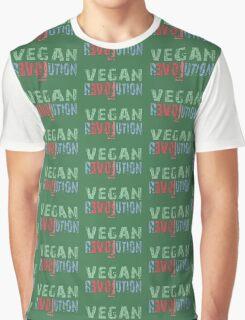 VEGAN REVOLUTION - vegan, vegetarian, animal rights, cruelty to animals Graphic T-Shirt