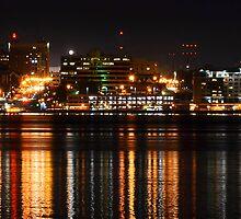 Erie Pa Skyline by Heather  Andrews Kosinski