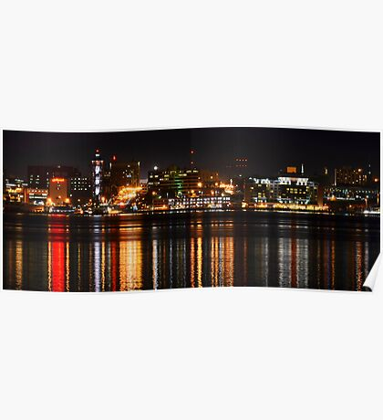 Erie Pa Skyline Poster